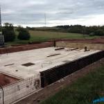 Neubau eines Boxenlaufstalles mit Melkroboter im Saarland