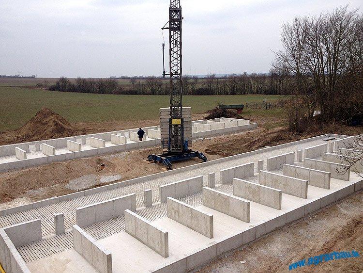 Neubau von 2 Schweinemastställen in Rheinland-Pfalz