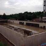 Neubau eines Boxenlaufstalles mit Melkstand im Saarland