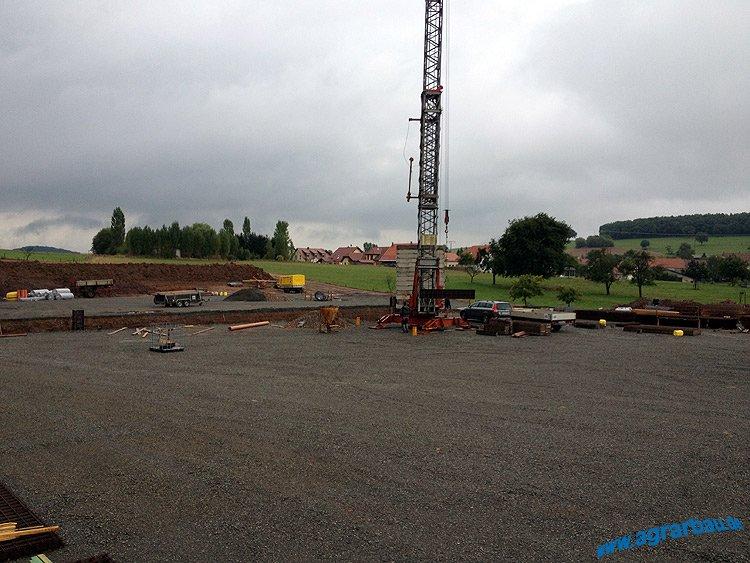 Neubau eines Boxenlaufstalles mit Melkroboter in Rheinland-Pfalz