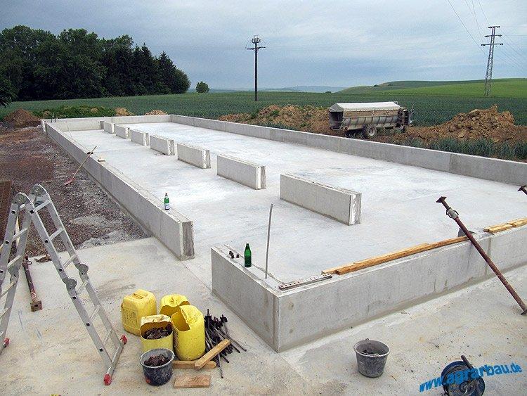 Neubau eines Hühnerstalles in Gaugrehweiler (Rheinland-Pfalz)